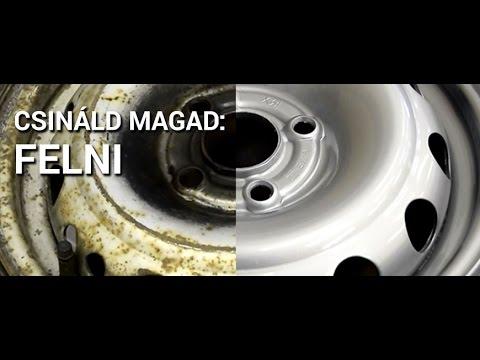 Csináld Magad  Felnifelújítás - Felni festés Otthon - CarColor.hu ... 4aefd2c725