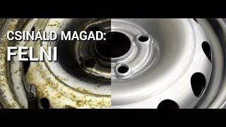 Csináld Magad: Felnifelújítás - Felni festés Otthon - CarColor.hu