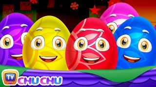 Learn Actions Words for Kids with ChuChu TV Surprise Eggs Toys & Nursery Rhymes | Snapping, Jumping
