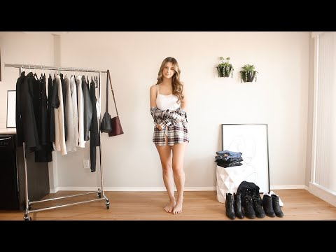 How to Style a Plaid Shirt for Fall - YouTube