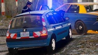 [GTA-LSPDFR] Patrouille en Clio 2 Gendarmerie Nationale #61