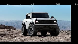 2021 Ford Bronco Base Colors