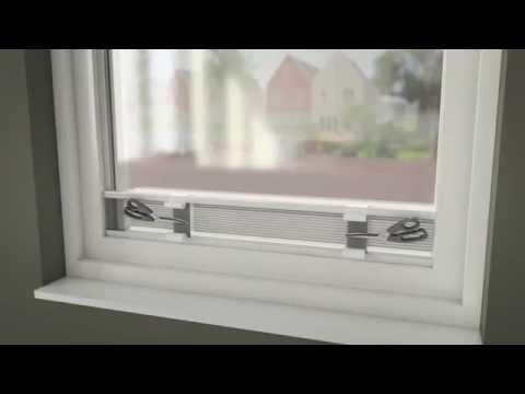 Topnotch Montering utspent plissegardin - YouTube QB-71