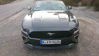 Ford Mustang GT Convertible Testdrive 2018