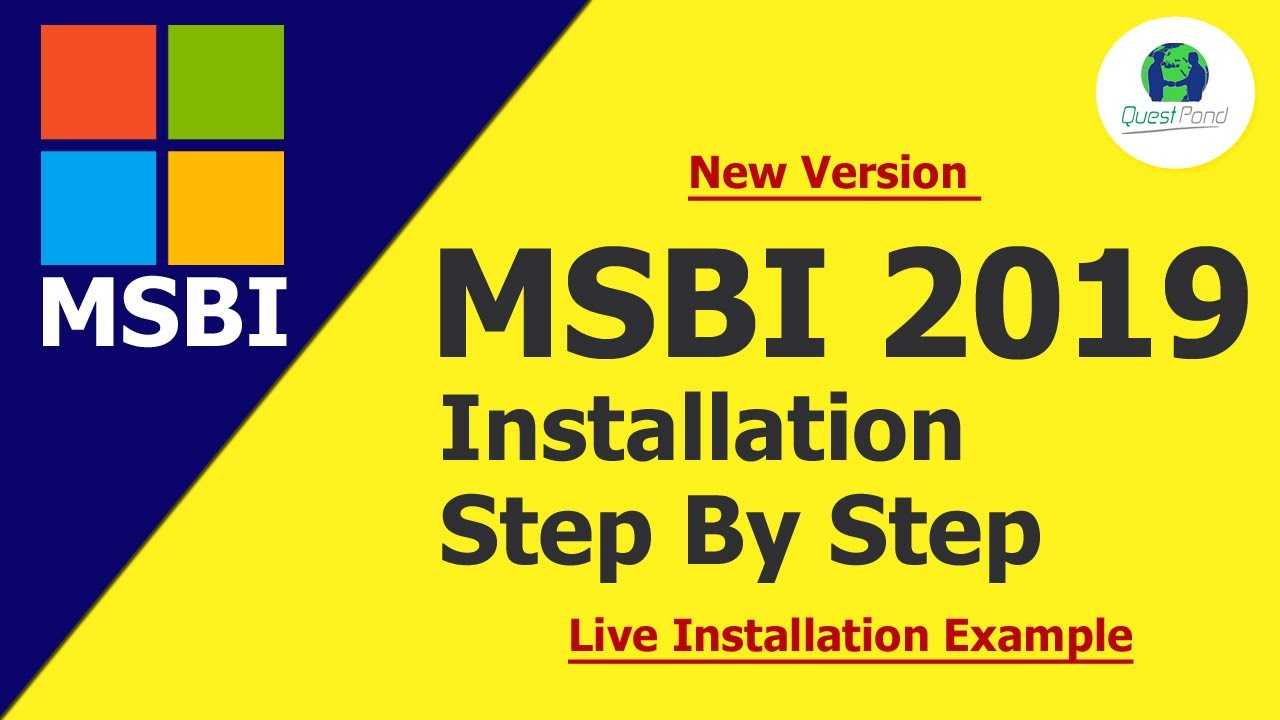 How to Install MSBI 2019 [New Version] Step By Step On Windows 10