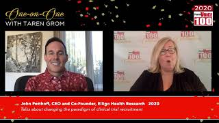 John Potthoff, Elligo Health Research – 2020 PharmaVOICE 100 Celebration