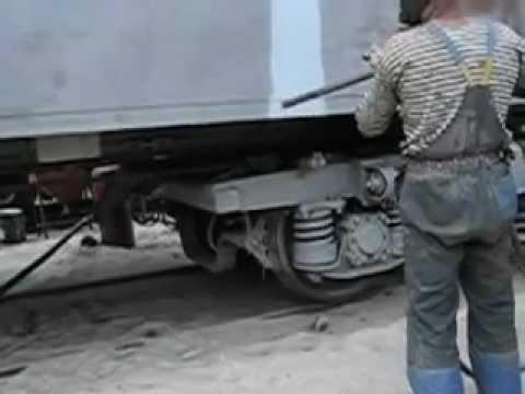 Цинкование вагона_PRANS_Zinc coating