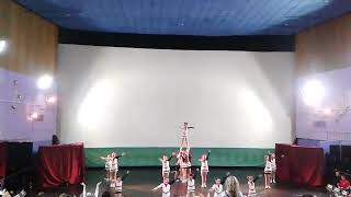 Cheerleading. Чир спорт. Команда Смайл.
