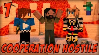 Coopération Hostile : Inferno Mines | Episode 1 - Minecraft