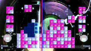 Lumines : Electronic Symphony Windowlicker Gameplay Video