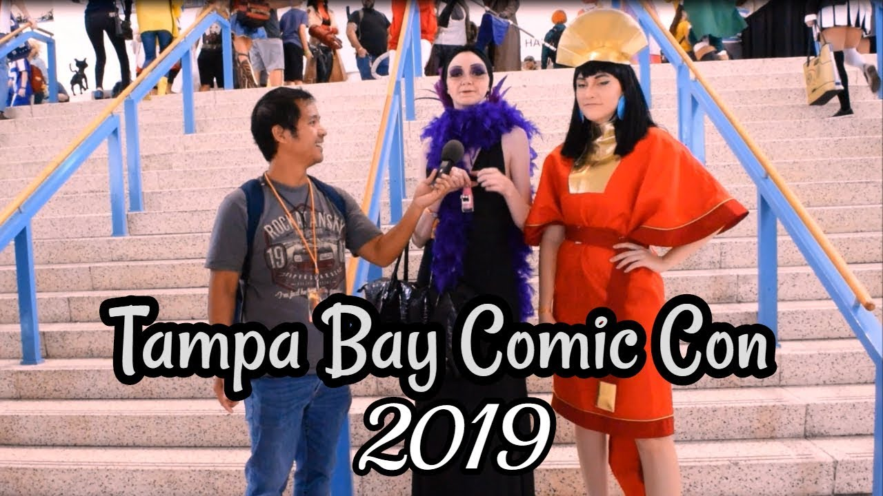 Tampa Bay Comic Con 2019 - COSPLAY INTERVIEWS