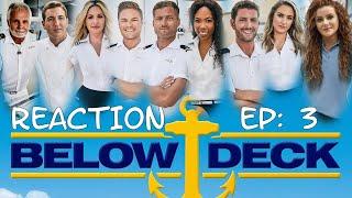 BELOW DECK: THAILAND SEASON 7 Episode #3 REACTION | Lisa Marie