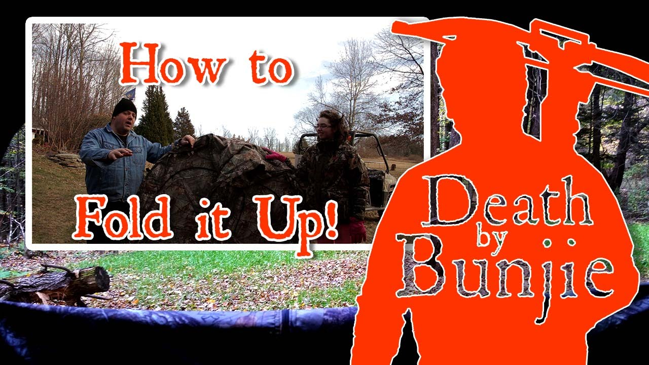 How to Fold Up Your Ameristep Doghouse Blind