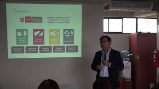 Tema: HACIA LA ACREDITACIÓN INSTITUCIONAL DE LA UNMSM