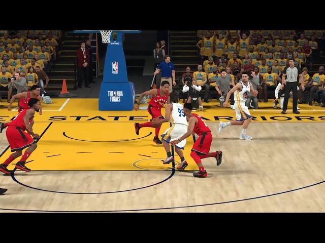 NBA 2K18 360° Layup