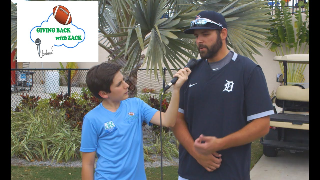 Giving Back with Zack- Michael Fulmer of the Detroit Tigers