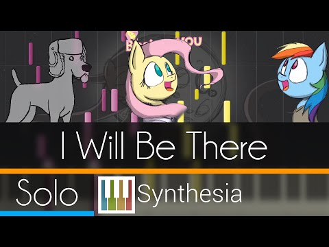 I Will Be There - Count of Monte Cristo - |SOLO PIANO TUTORIAL w/LYRICS| -- Synthesia HD