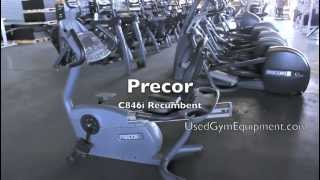 Used Precor C846i Recumbent Exercise Equipment for sale refurbished