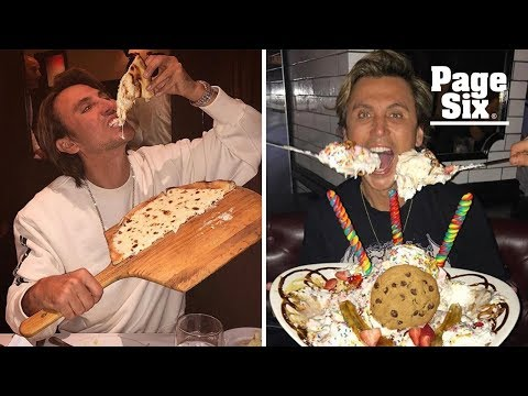 'Foodgod' Eats Three-Course Pizza (Fries, Burgers, and Oreos) | Foodgod Jonathan Cheban | Page Six