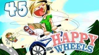 RIDING STEPHANO! - Happy Wheels - Part 45