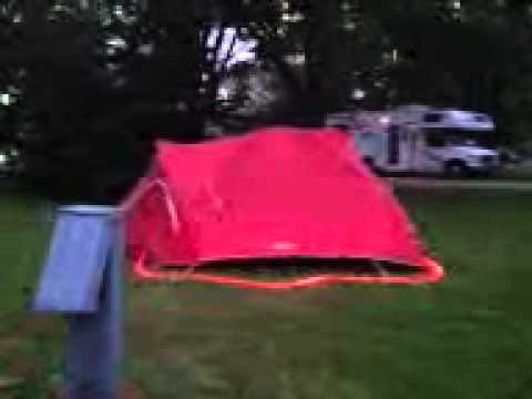 Coleman hooligan tent outside & Coleman hooligan tent outside - YouTube