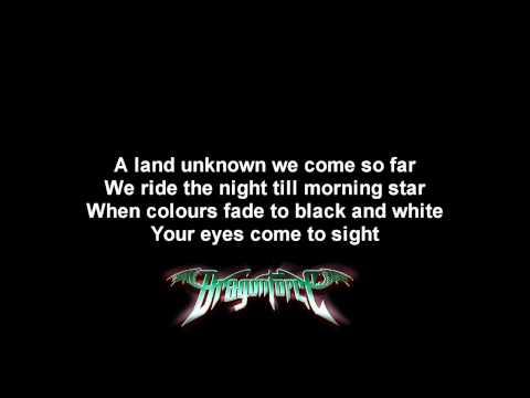 DragonForce - Heart Of A Dragon | Lyrics on screen | HD