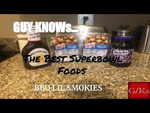 The Best Super Bowl Foods BBQ LIL Smokies