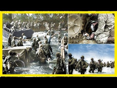 Newly released wwii images show battle of tarawa