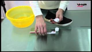 بالفيديو: معجون الأسنان للعناية بالأحذية