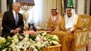 وزير الدفاع الأمريكي يلتقي العاهل السعودي لمناقشة الملف السوري ورحيل الأسد-تفاصيل