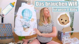 Unsere Erstausstattung 🍼 Baby Haul | Was braucht man wirklich? | Isabeau