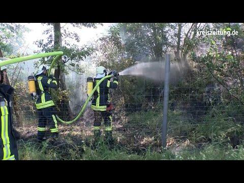 Bahnlinien-Sperrung und Brände zwischen Bremen und Hannover