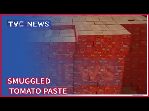 Customs Strike Force Zone A Uncovers Warehouse Stacked With Tomato Paste