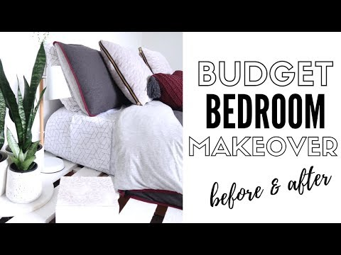 Budget Room Makeover 2018 | Minimalism Series
