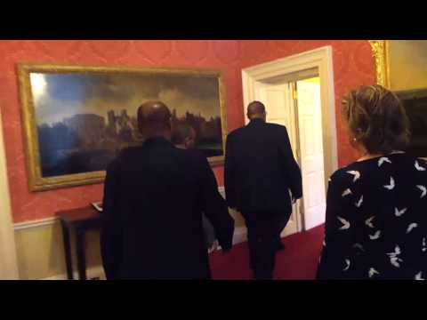 Silanyo in number 10 Downing Street