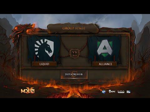 Team Liquid Vs Alliance, MDL Chengdu Major, Bo3, Game 1 [Adekvat & Jam]