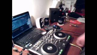 DJ H-bomb Mixtrack 2 dubstep (Quartus Saul Bar9 Flux Pavilion Trolley Snatcha)