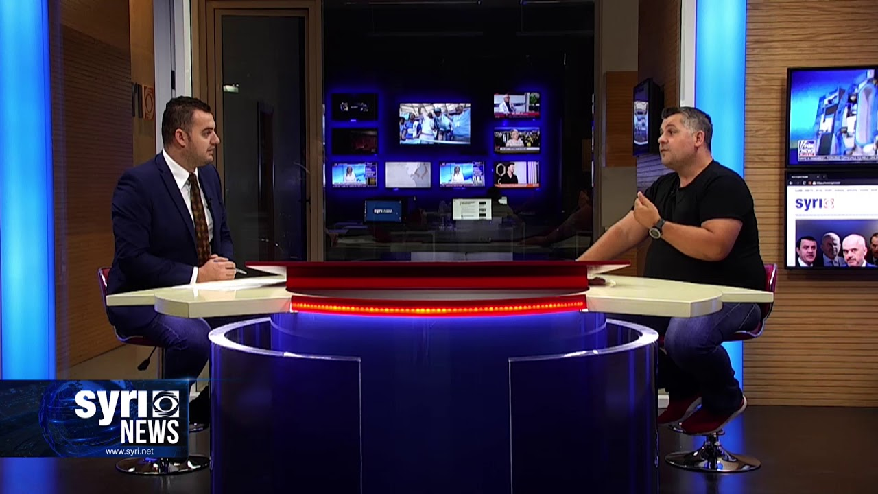 Intervista ne Syri Net i ftuar ne studio Gentian Zenelaj