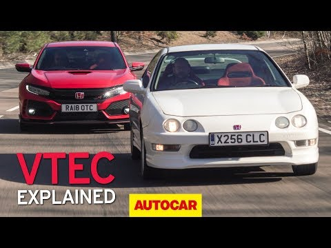 Honda Integra Type R meets  Civic Type R | VTEC explained | Autocar Heroes