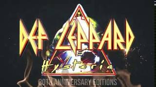 DEF LEPPARD - HYSTERIA 30th Anniversary Editions (pre order now)