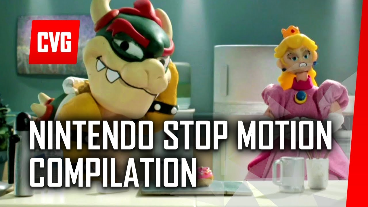 Nintendo Presentation Stop Motion Compilation - E3 2014