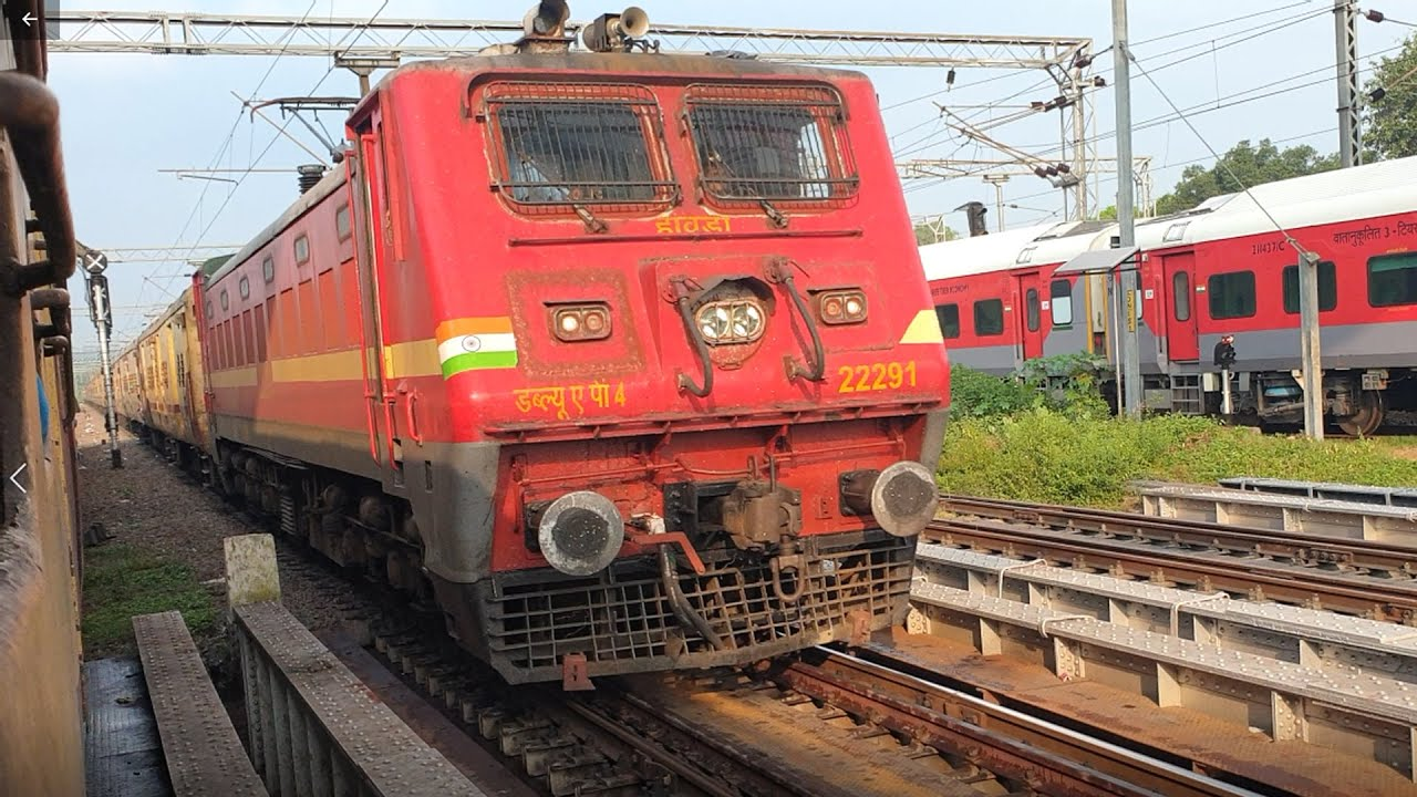 HOWRAH To HARIDWAR   Full Journey 02327/Upasana Super Fast Special Express, Indian Railways 4k HD