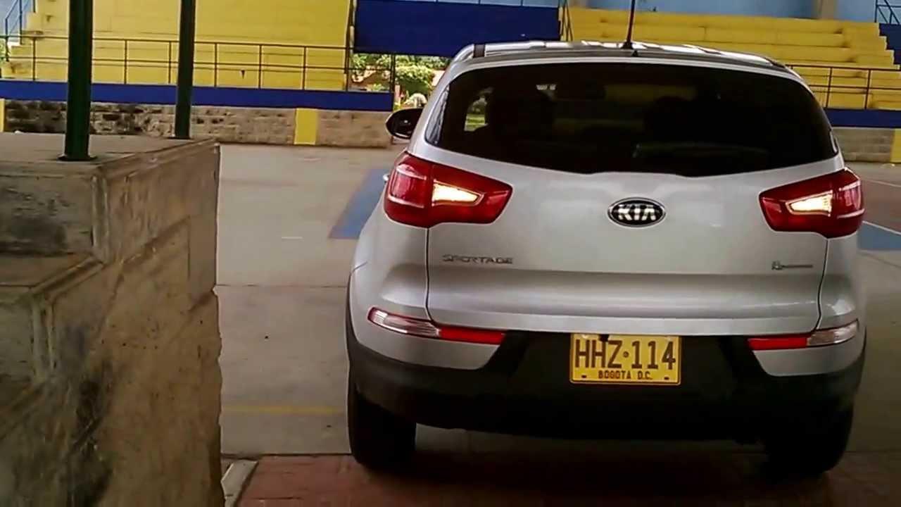 Driving Of Kia Sportage Revolution