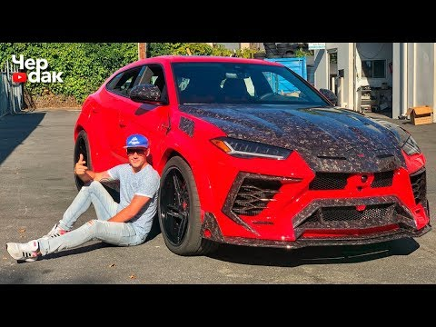 Самый страшный Lamborghini URUS / Тюнинг за 12 000 000 р. / Тесла умерла в автосалоне.