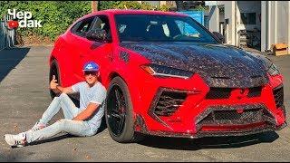 Download Самый страшный Lamborghini URUS / Тюнинг за 12 000 000 р. / Тесла умерла в автосалоне. Mp3 and Videos