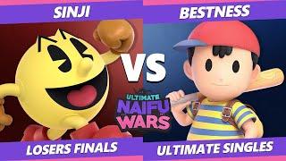 Naifu Wars 13 Losers Finals - ARM | BestNess (Ness) Vs. DA | Sinji (Pac-Man) SSBU Singles