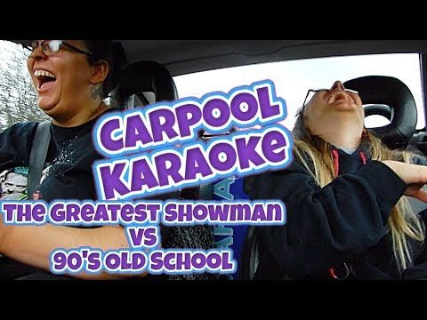 The Greatest Showman Meets 90s Carpool Karaoke // Road To Nationals | Sophie