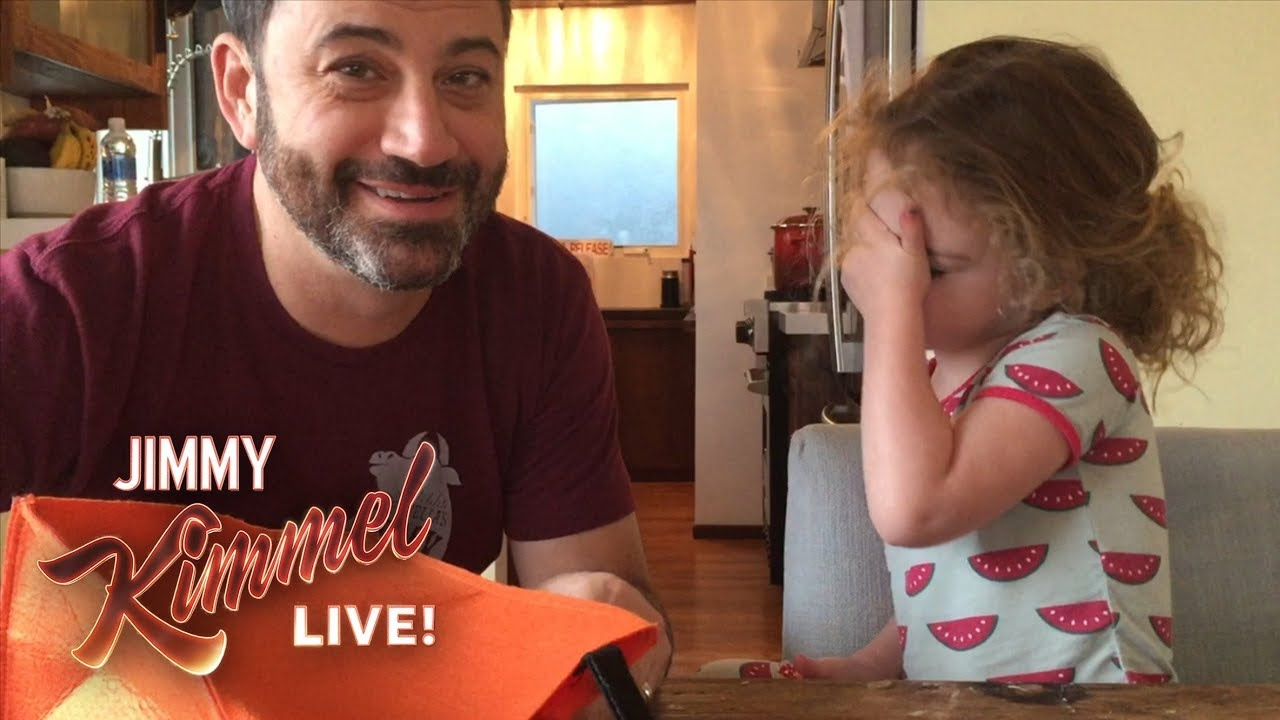 Jimmy Kimmel Tells His Daughter He Ate All Her Halloween Candy ...
