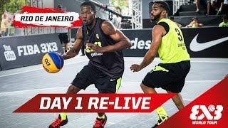 Day 1 + Dunk Contest Qualifier - Re-Live - Rio de Janeiro - 2015 FIBA 3x3 World Tour