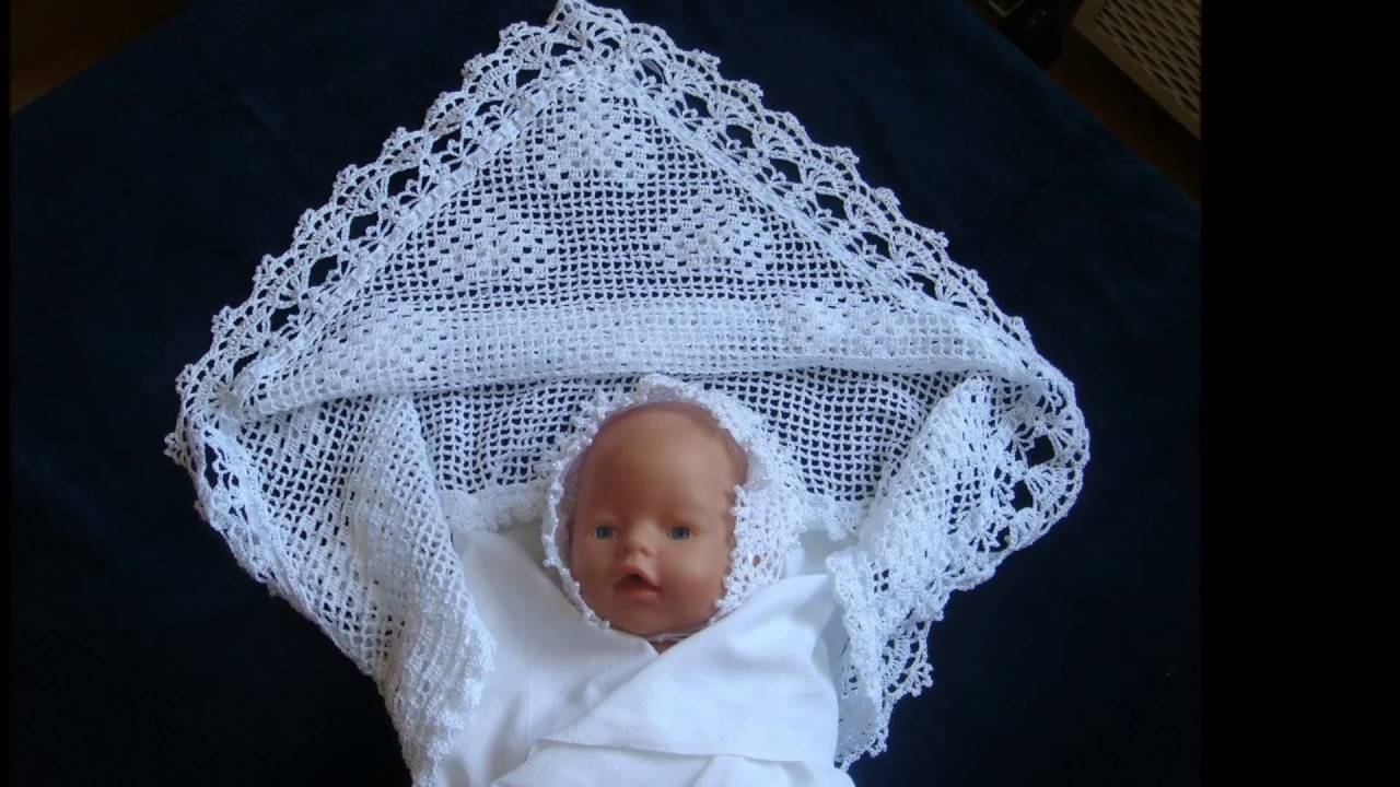 Mantas de bebe tejidas en crochet tejidos para bebes - Mantas de ganchillo bebe ...